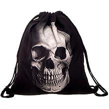 Bolsa lazo, Tinksky Morral de Lazo con esqueleto para Mujer Chica Niños