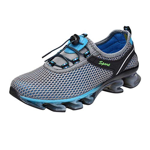AIni Herren Schuhe 2019 Neuer Heißer Beiläufiges Mode Atmungsaktive Outdoor Wanderschuhe Freizeit Sportschuhe Watschuhe Freizeitschuhe Partyschuhe (43,Grau)