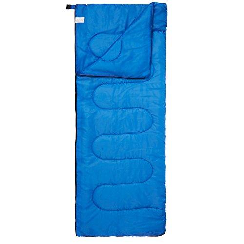418Bnfg738L. SS500  - Premium 200 Warm Lightweight Envelope Sleeping Bag - For Traveling, Camping, Hiking, Indoor & Outdoor Activities