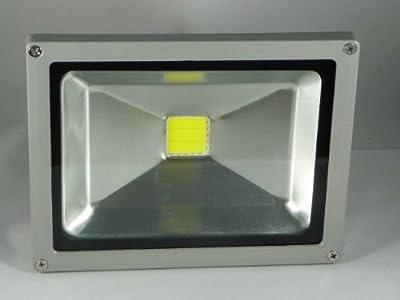 LED Außenfluter - IP65 - 30 Watt - 5.000 Kelvin Kaltweiss - 2900 Lumen (ersetzt 280 - 300 Watt Halogen) von Lux-LED-Shop Eigenmarke bei Lampenhans.de