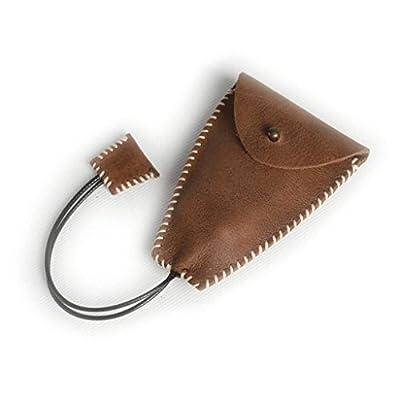 ZLR Porte-clés en cuir pour hommes en cuir multifonction en cuir Sac à petite monnaie