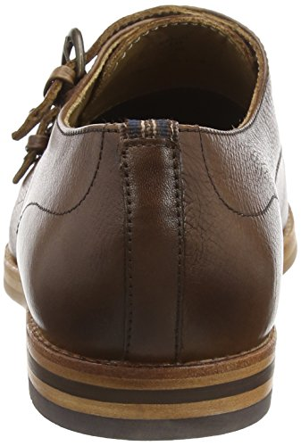 Hudson K424240, Scarpe Monk Strap Uomo Marrone (Tan)