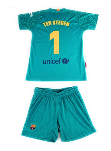 Rogers Equipación 17-18 FC Barcelona niño TER STEGEN