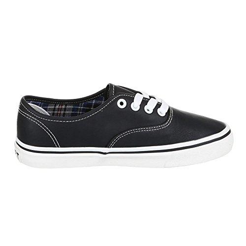 Scarpe Da Donna Ital-design, Q-16, Scarpe Casual Sneakers Leggere Nere