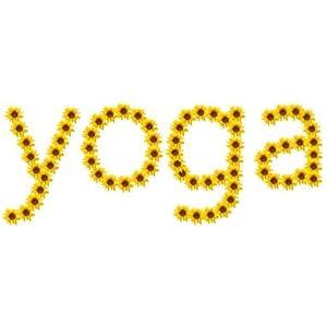 Yoga-Sonnenblume (Leinwand)