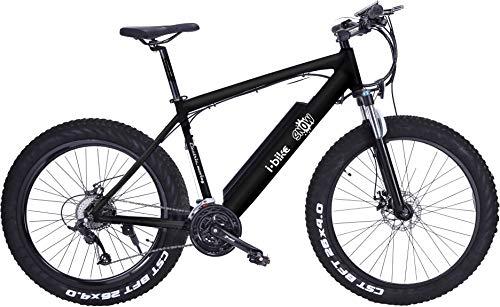 i-Bike, Mountain Snow Unisex Adulto, Nero, Unica