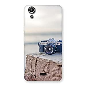 Delighted Camera On RockStone Back Case Cover for Micromax Canvas Selfie Lens Q345