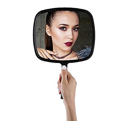 Easehold Großer Handspiegel für Frisiersalon, Wand-hängenden Spiegel, Beweglich Badspiegel und Wandspiegel