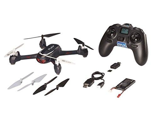 Revell Control RC GPS Quadrocopter mit HD-Kamera, ferngesteuert mit GHz Fernsteuerung, Coming-home, Höhensensor, Headless, Landefunktion, LED-Beleuchtung, leicht zu fliegen – PULSE 23887