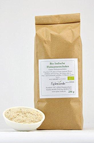 Spira Verde, BIO Indische Flohsamenschalen, 99,4 % Reinheit, 250 g