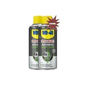 WD40 – Nettoyant pour chaîne de moto 400 ml (lot de 2 soit 800 ml)