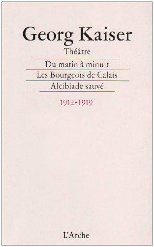 Théâtre, 1912-1919