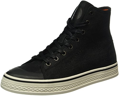 G-STAR RAW Bayton High Denim, Sneakers Hautes Homme Noir (Black 990)
