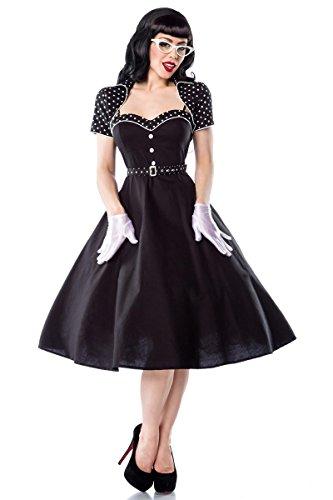 50er Jahre Rockabilly Petticoat Kleid mit Bolero & Gürtel - 2