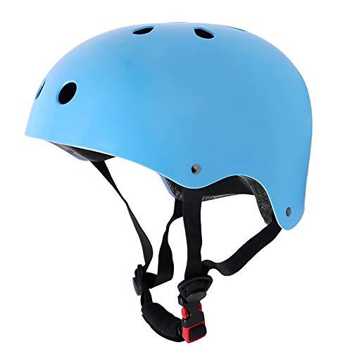 ALRY Kinderhelm Ausrüstung Skateboard Schutzausrüstung Fahrrad Rollschuhlaufen Baby Balance Autohelm Anti-Fall Vier Jahreszeiten Universal,Blue,XS -