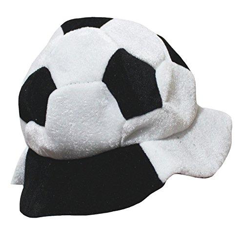 petitebelle Sport Fußball Hut Kostüm Unisex Kinder Kleidung Gr. One size, weiß