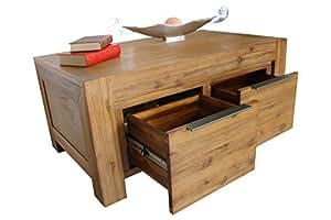 sedex florenz couchtisch 100 x 60 cm wohnzimmertisch tisch massivholz akazie massivholztisch. Black Bedroom Furniture Sets. Home Design Ideas