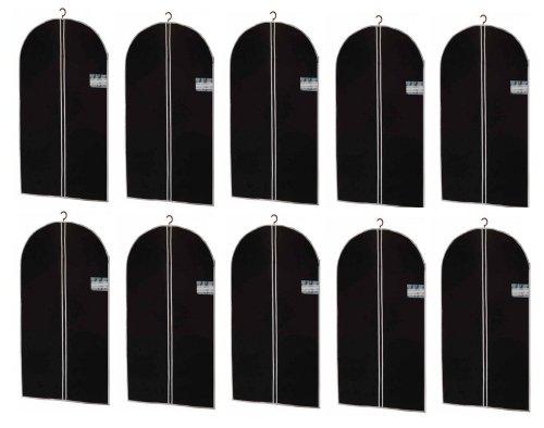 (AP24) 10 x Kleidersack Kleiderhülle Kleiderschutz Aufbewahrung 100 x 60 cm