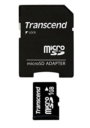 Transcend 1GB MicroSD Memory Card