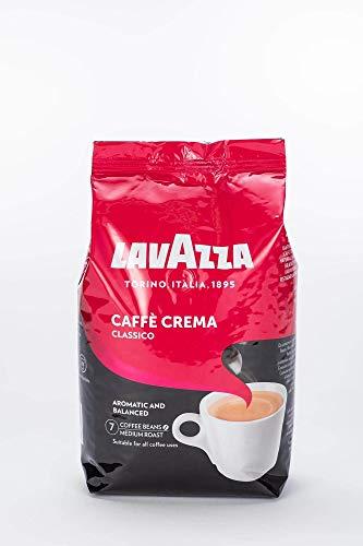 Lavazza Caffè Crema Classico, Caffè in Grani, 4x 1000g