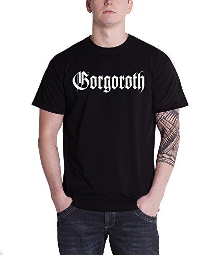Gorgoroth - Top - Maniche corte  - Uomo nero Large
