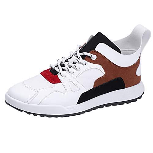 BEKUTY Basket Pas Cher Chaussure de Securité Homme Legere Running Femme New Men's Flying Weaving Le Running Shoes Tourist Shoes Leisure Sports Shoes