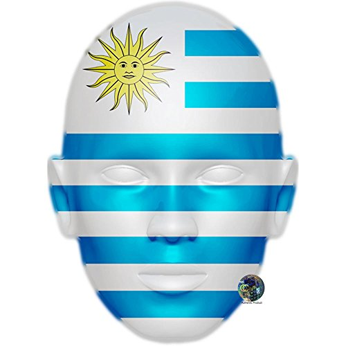 Celebrity Cutouts Uruguay Worldcup 2018 Mask, Card Face and Fancy Dress Mask