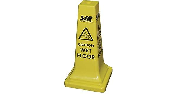 Syr floor cartello attenzione pavimento bagnato 21 cm: amazon.it
