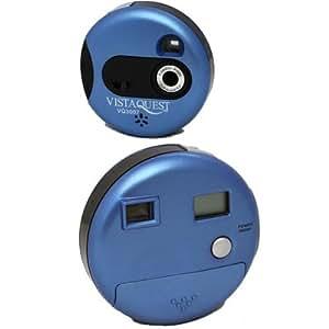 Vistaquest - VQ-3007B - Appareil photo compact numérique - 3 Mpix - Ecran LCD - Bleu