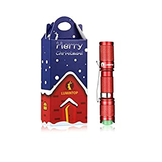 Wafalano LUMINTOP Weihnachten Version Tool Keychain Mini Taschenlampe AAA batteriebetriebene XP-G2 LED Taschenlampe mit reversiblen Clip