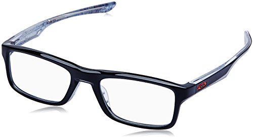 Ray-Ban Unisex-Erwachsene 0OX8081 Brillengestelle, Schwarz (Polished Black), 53