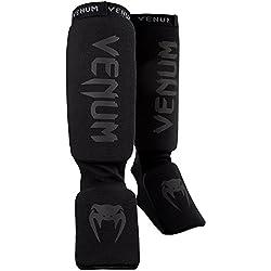 Venum Kontact Schienbeinschutz, Black, One Size