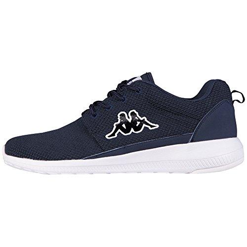 Kappa Speed ii Chaussures Unisexe, Maille / Synthétique, Scarpe Da Ginnastica Unisexe - Adulto Blu (6710 Marine / Blanc)