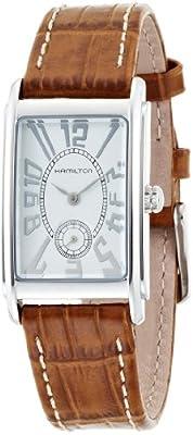 Hamilton Men's Analogue Quartz Watch with Leather Strap H11411553