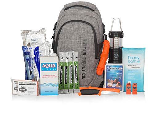 Sac de survie et de secours / Kit de survie d'urgence - Équipement complet pour 72 heures pour 2...