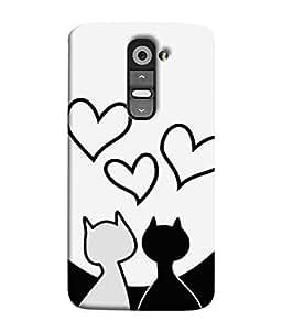 Fuson Designer Back Case Cover for LG G3 Mini (Couples Love Partners Soul Mate Boy Girl)