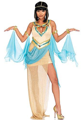 shoperama Queen Cleopatra Damen-Kostüm von Leg Avenue Ägypterin Pharaonin Königin Kleopatra, Größe:S/M
