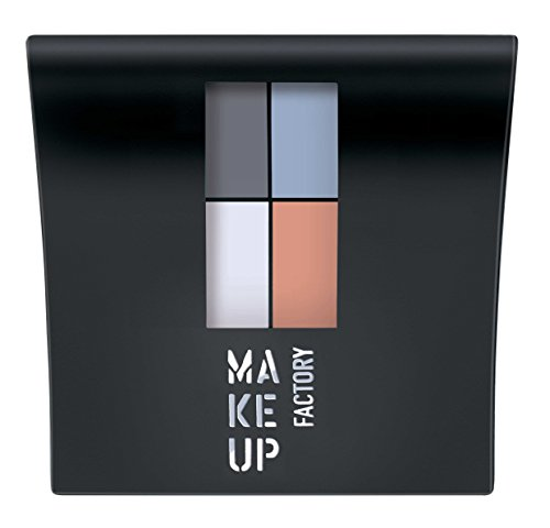 Make Up Factory Mat Eye Colors Matt powder Eyeshadow Limited Fashion Colors Nr. 580 Pastel Garden Party Inhalt: 4,8g Quattro Lidschatten (Make-up Factory)
