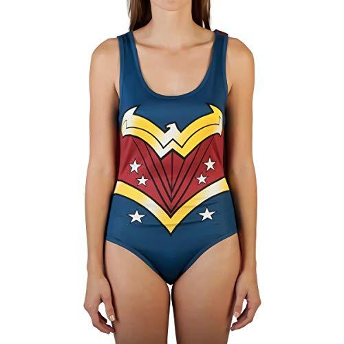 Bioworld Merchandising / Independent Sales DC Comics Wonder Woman Fancy Dress Costume Bodysuit with...