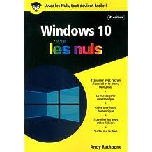 Windows 10 pour les Nuls poche, 2e édition