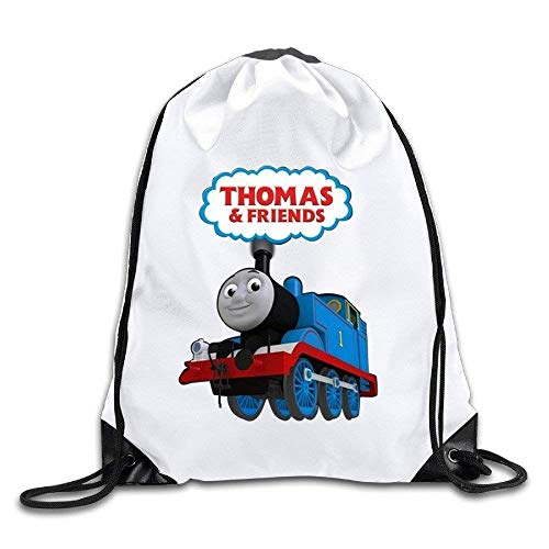 Dhrenvn Thomas The Tank Engine and Friends Port Bag Drawstring Backpack