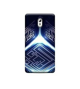 Ebby Premium 3d Desinger Printed Back Case Cover For Lenovo Vibe P1M (Premium Desinger Case)