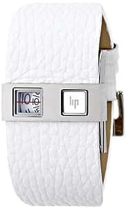 Lip Créateur - 1871328A+150072+143357 - De Baschmakof - Montre Homme - Quartz Digitale - Bracelet Cuir Noir