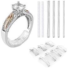 Coopache Invisible Ring Size Adjuster per anelli sciolti - Ring Guard, Ring  Sizer, 7 e9fafc23d43