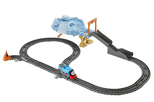 Thomas & Friends DFM51 Close Call Cliff Set, Thomas the Tank Engine Toy Train Set, Trackmaster Toy Train, 3 Year Old