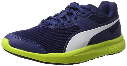 Puma escaper Mesh, Sneakers Basses Mixte Adulte Bleu (Blue Depths-white-nrgy Yellow)