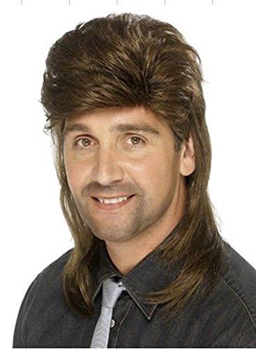 Hommes perruques, perruque homme perruques européennes et moelleux perruques longues mode beau garçons en fil de haute température de cheveux pour hommes