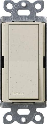 Lutron SC-4psnl LS Diva Satin Colors de 15Amp 4Way Switch with Locator Light, Limestone by Lutron