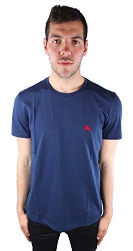 Burberry Herren T-shirts (Burberry 3872329 38723291 Navy Herren T-Shirt Blau)
