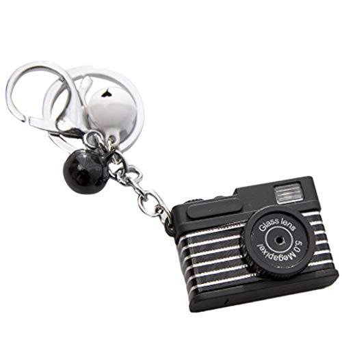 only y Nur y Neue Mini Spielzeug Kamera schlüsselbund mit Glocke anhänger Tasche zubehör Kinder Spielzeug - Bk Mini-anhänger